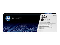 CB435A - HP 35A - Black - original - LaserJet - toner cartridge (CB435A) - for LaserJet P1005, P1006, P1007, P1008, P1009 CB435A