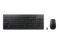 4X30M39496 - Lenovo Essential Wireless Combo - Keyboard and mouse set - wireless - 2.4 GHz - UK - for S510; ThinkCentre M700; M71X; M810; M910; ThinkPad L470; T470; X1 Carbon (5th Gen); X270 4X30M39496