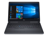 "GDWTR - Dell Precision Mobile Workstation 7520 - 15.6"" - Core i7 7700HQ - 16 GB RAM - 256 GB SSD - with 3-year ProSupport GDWTR"