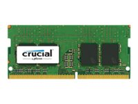 CT8G4SFD824A - Crucial - DDR4 - 8 GB - SO-DIMM 260-pin - 2400 MHz / PC4-19200 - CL17 - 1.2 V - unbuffered - non-ECC CT8G4SFD824A