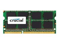 CT51264BF160B - Crucial - DDR3L - module - 4 GB - SO-DIMM 204-pin - 1600 MHz / PC3-12800 - CL11 - 1.35 V - unbuffered - non-ECC CT51264BF160B