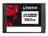 "SEDC500R/960G - Kingston Data Center DC500R - Solid state drive - encrypted - 960 GB - internal - 2.5"" - SATA 6Gb/s - AES - Self-Encrypting Drive (SED) SEDC500R/960G"