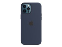 MHLD3ZM/A - Apple Case with MagSafe - Back cover for mobile phone - silicone - deep navy - for iPhone 12 Pro Max MHLD3ZM/A