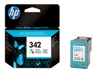C9361EE#UUS - HP 342 - 5 ml - colour (cyan, magenta, yellow) - original - ink cartridge - for Officejet 63XX; Photosmart 25XX, C3193, C3194, C4110, C4170, C4173, C4175, C4193, C4194 C9361EE#UUS