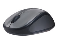 910-002201 - Logitech M235 - Mouse - right-handed - optical - wireless - 2.4 GHz - USB wireless receiver - grey 910-002201