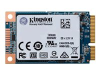 SUV500MS/240G - Kingston UV500 - Solid state drive - encrypted - 240 GB - internal - mSATA - SATA 6Gb/s - 256-bit AES - Self-Encrypting Drive (SED), TCG Opal Encryption 2.0 SUV500MS/240G
